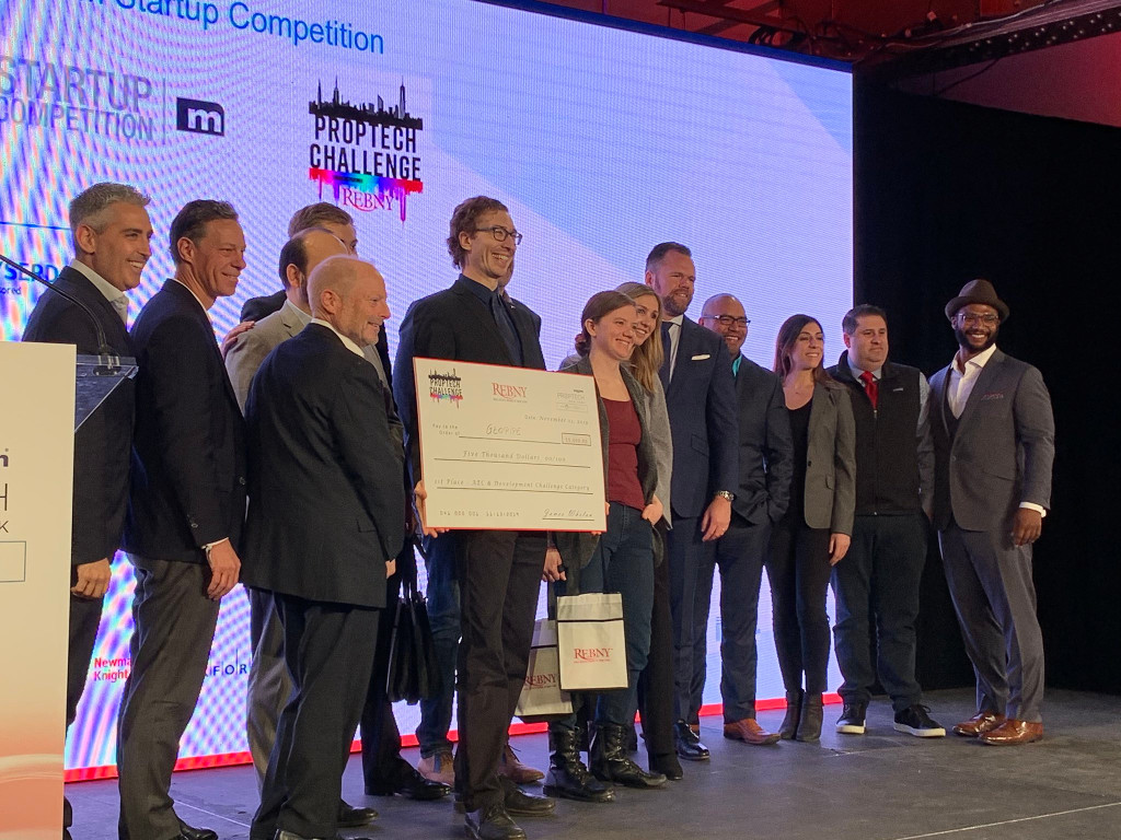 Geopipe wins a big check at the MIPIM PropTech Competition in NYC