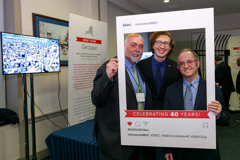 Geopipe celebrated at the SBDC Client Showcase in DC
